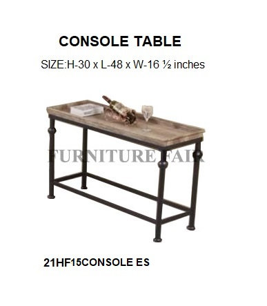 CONSOLE TABLE 21HF15CONSOLE ES