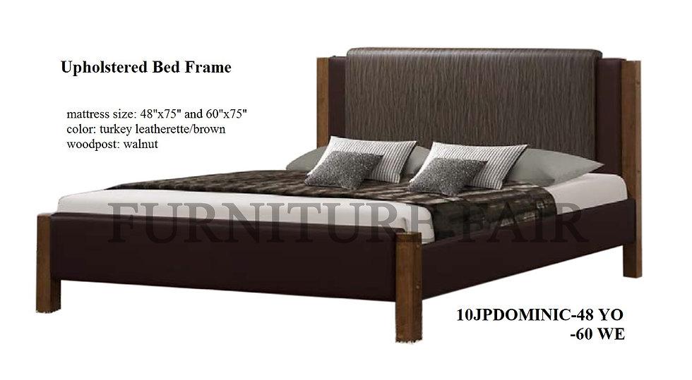 Upholstered Bedframe 10JPDOMINIC-48YO 60WE