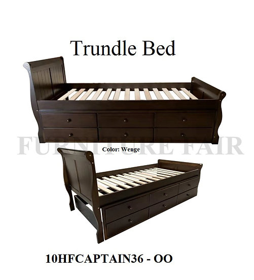 Trundle Bed 10HFCAPTAIN36 OO