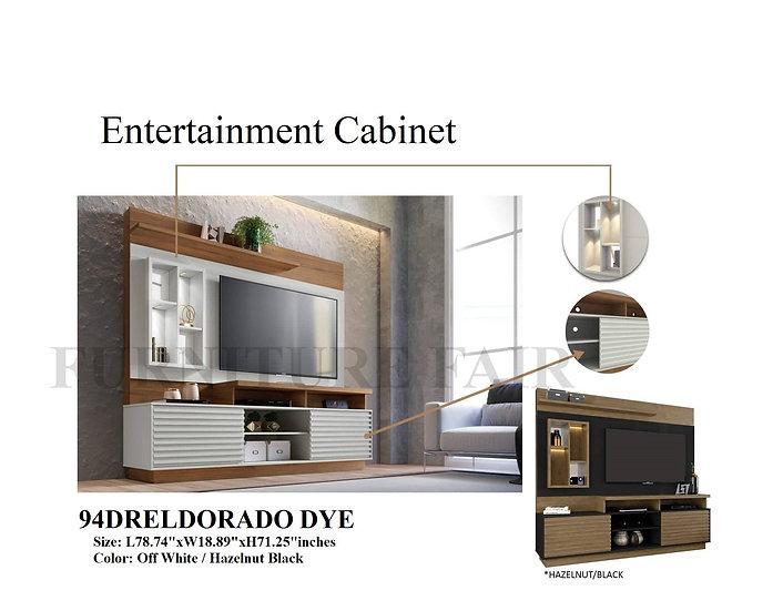 Entertainment Cabinet 94DRELDORADO DYE