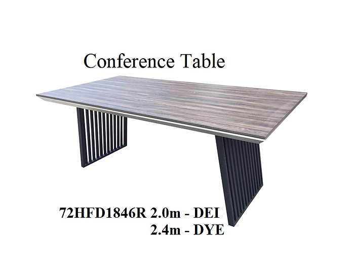 Conference Table 72HFD1846R 2.0m - DEI