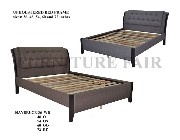 Bed Frame Size 54x75 10AYBRUCE-54 OS