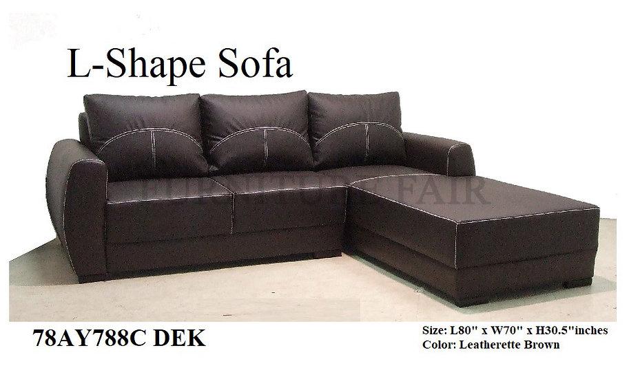 L-Shape Sofa 78AY788C DEK