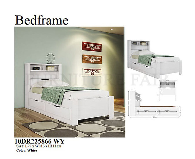 Bedframe 10DR225866 WY