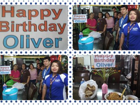 Happy Birthday Mr. Oliver