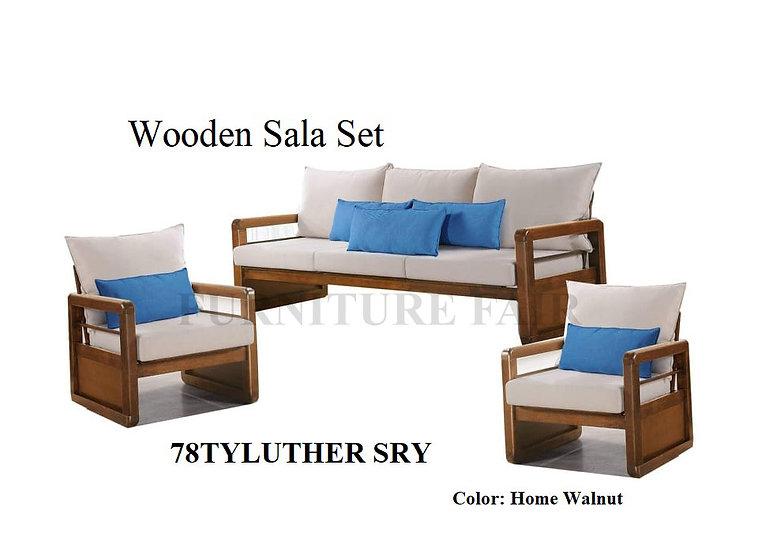 Wooden Sala Set 78TYLUTHER SRY