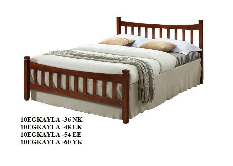 Wooden Bed Frame 10EGKAYLA