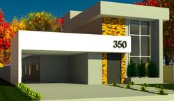 Projeto de Casa em Condomínio Fechado