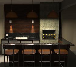 Projeto de Área Gourmet de Casa - Suzano/SP