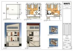 Projeto para Construção de Apartamentos 45m² - Suzano/SP