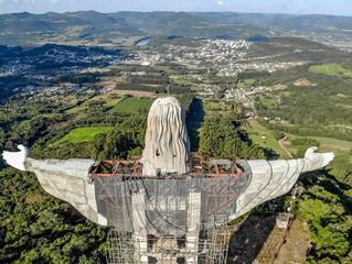 Cristo Protetor de Encantado/RS será ainda maior que o monumento do Rio de Janeiro