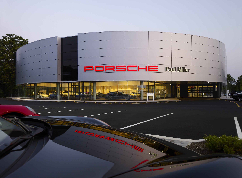 Paul Miller Porsche at Twilight