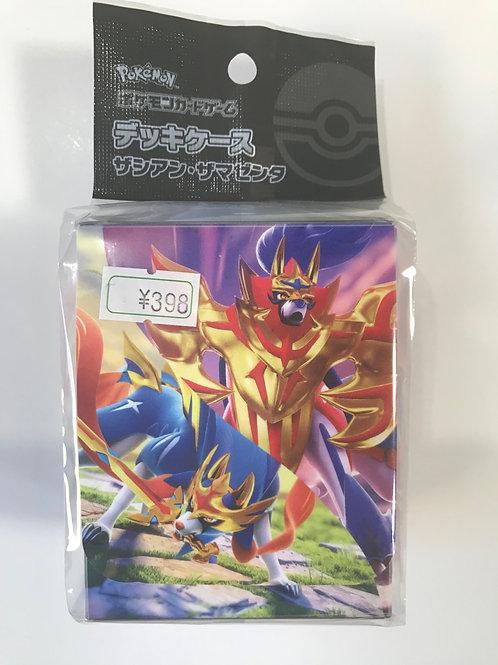 ポケモンカードゲームデッキケースザシアン・ザマゼンタ