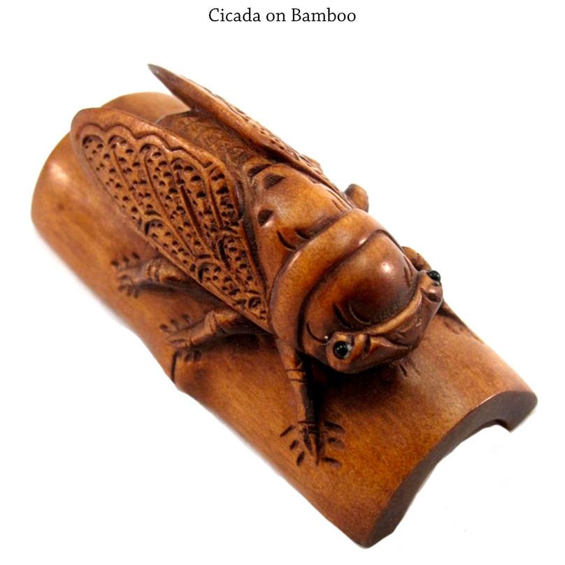 Cicada on Bamboo