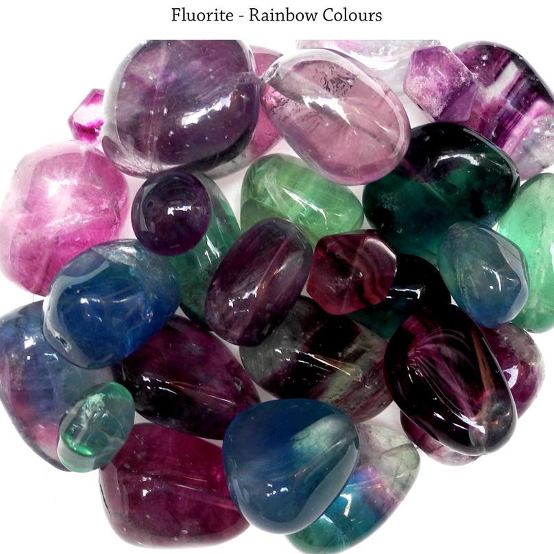 Fluorite - Rainbow Colours