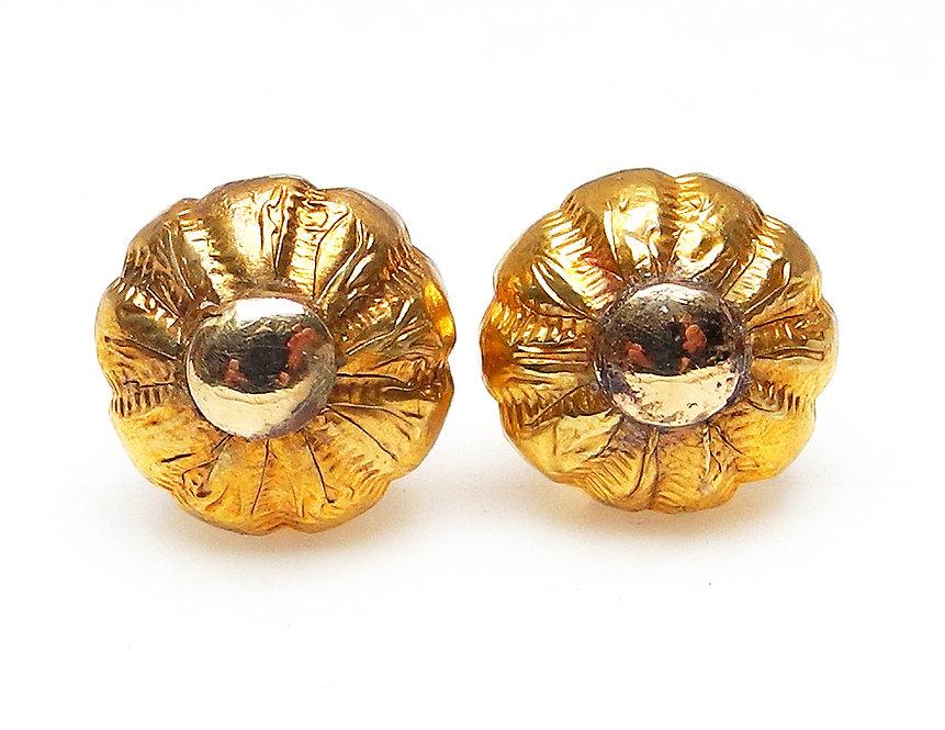 Vintage 18ct Gold Stud Earrings
