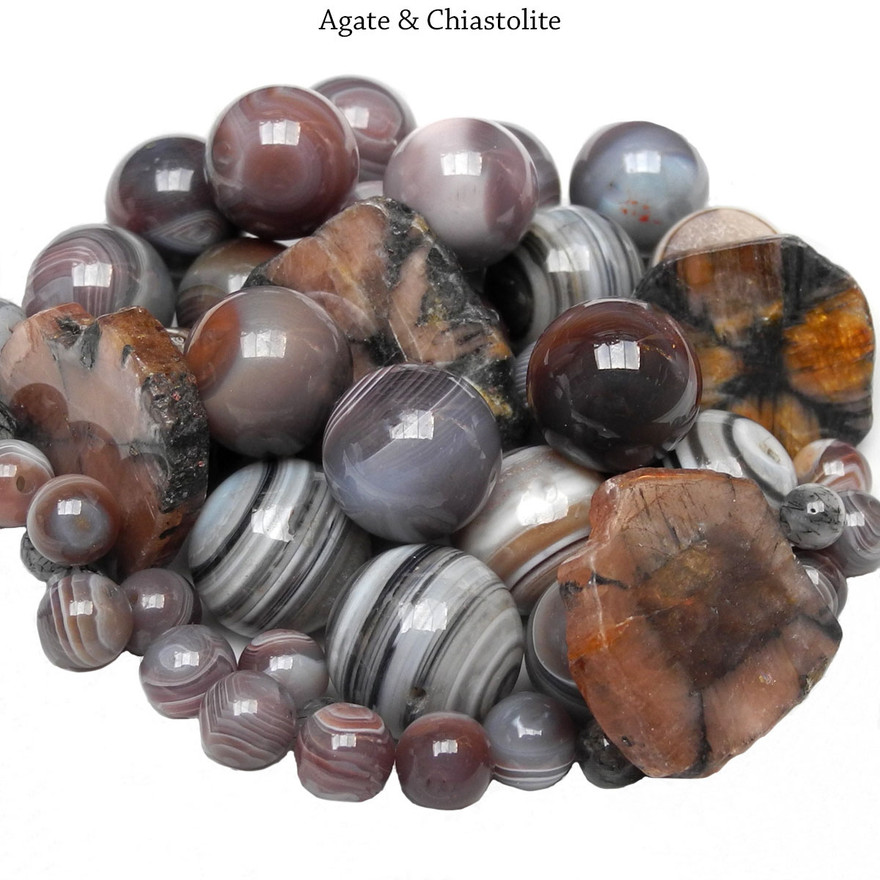 Agate & Chiastolite