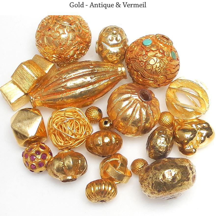 Gold - Antique & Vermeil