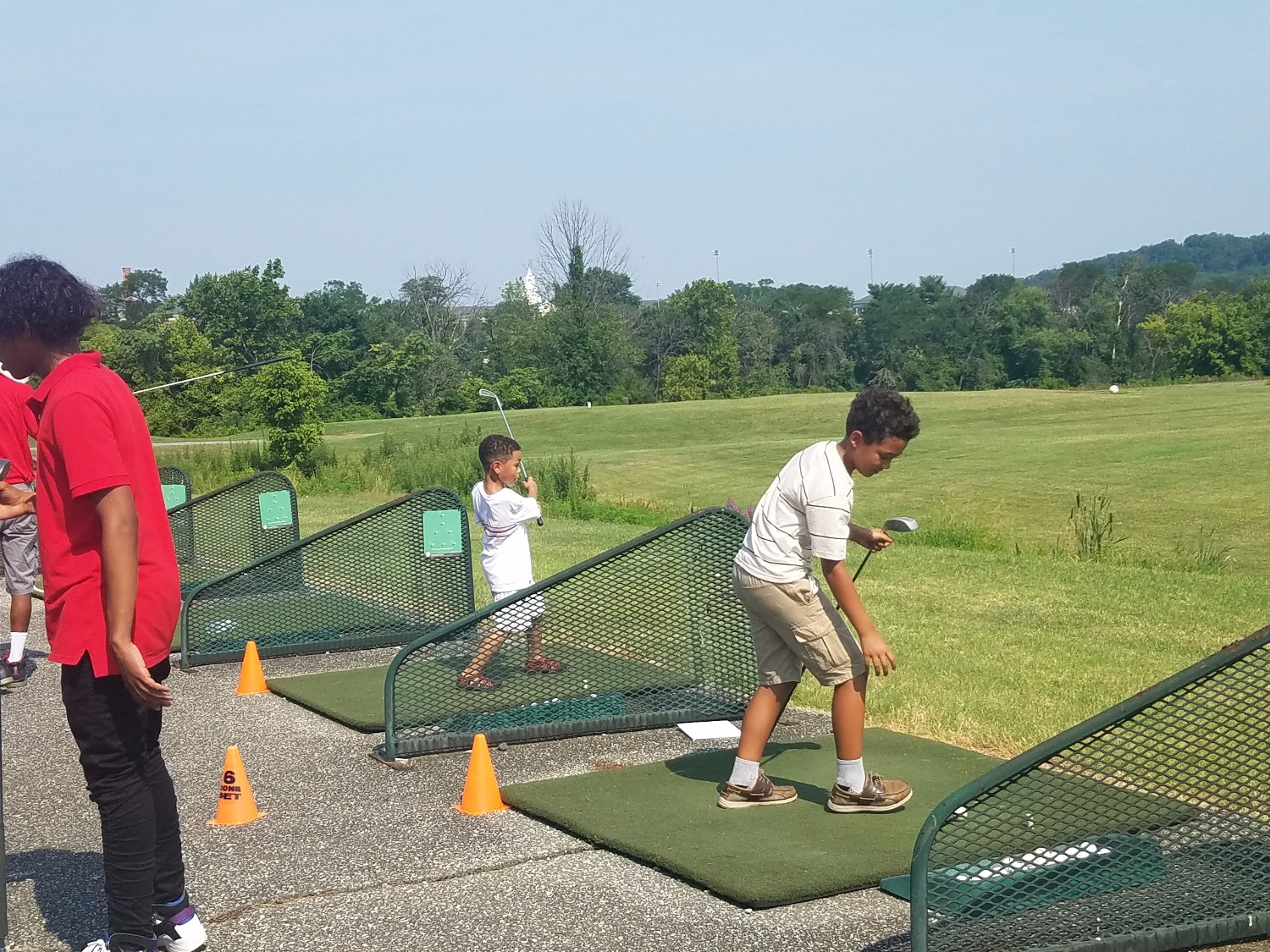 Camp OJ'e at Langston Junior Boys and Girls Golf Course