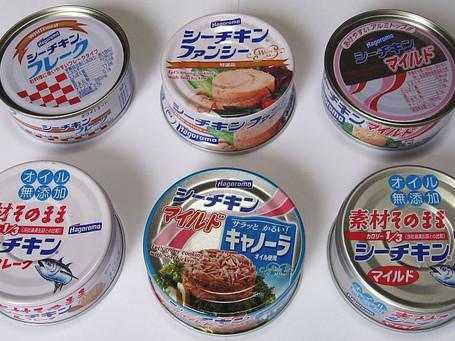 ツナ缶(シーチキン)のカロリーと栄養素と筋トレ|バルクアップ・ダイエットでの筋肉との関係