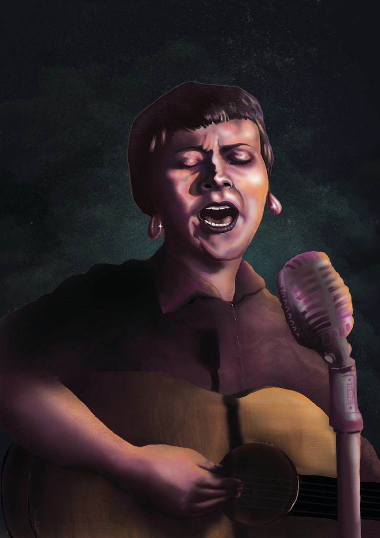 Barbara Dane Illustration