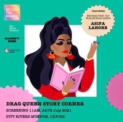 Drag Queen Story Corner