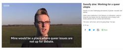 BBC Oxford and Sassify Zine