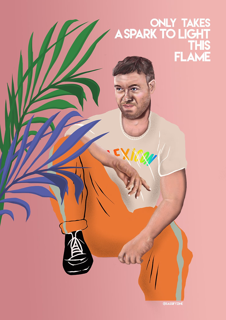 Will Young Illustration