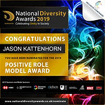 National Diversity Awards. Jason Kattenh