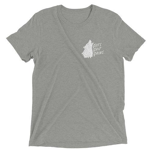 Guts, Grit, Gains Short Sleeve T-shirt
