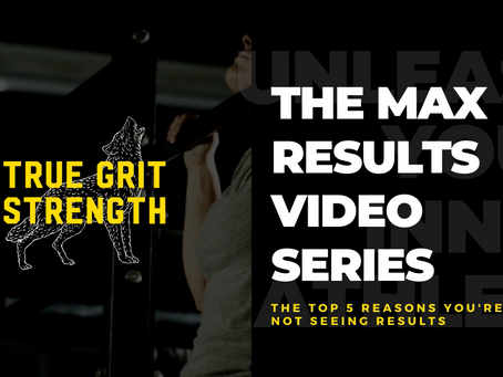 The MAX Results Video Series