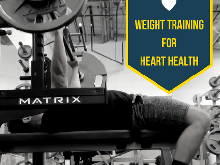 🖤 Weight training for heart health 🖤