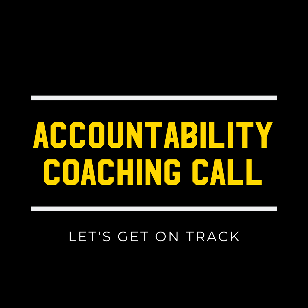 Accountability Coaching Call