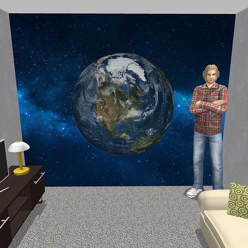 3D Wand Erde (Belag)