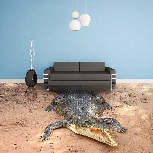 Krokodil (Belag) ab