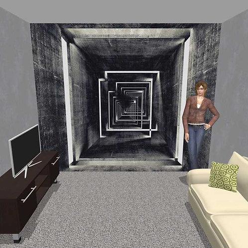 3D Wand Labyrinth (Belag)