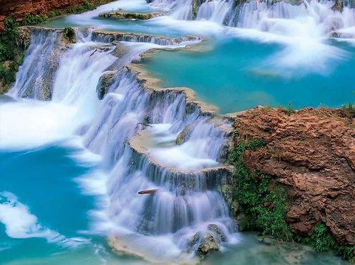 Wasserfall (Platte) ab