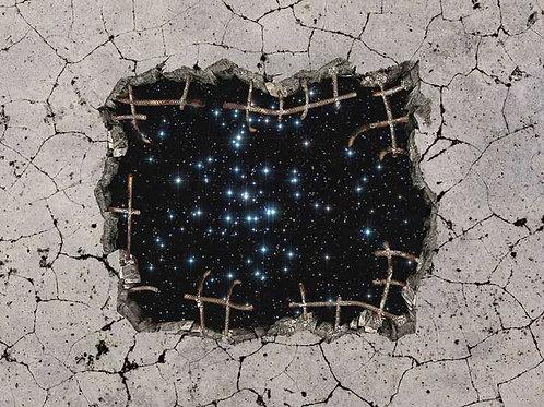 Beton - Sterne (Platte) ab