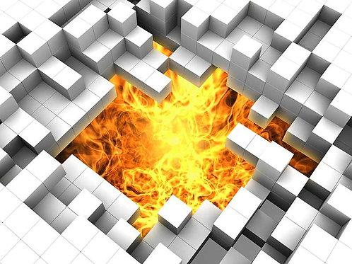 Steine und Feuer (Platte) ab