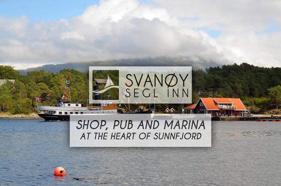 Svanøybukt butikk kro pub gjestehavn