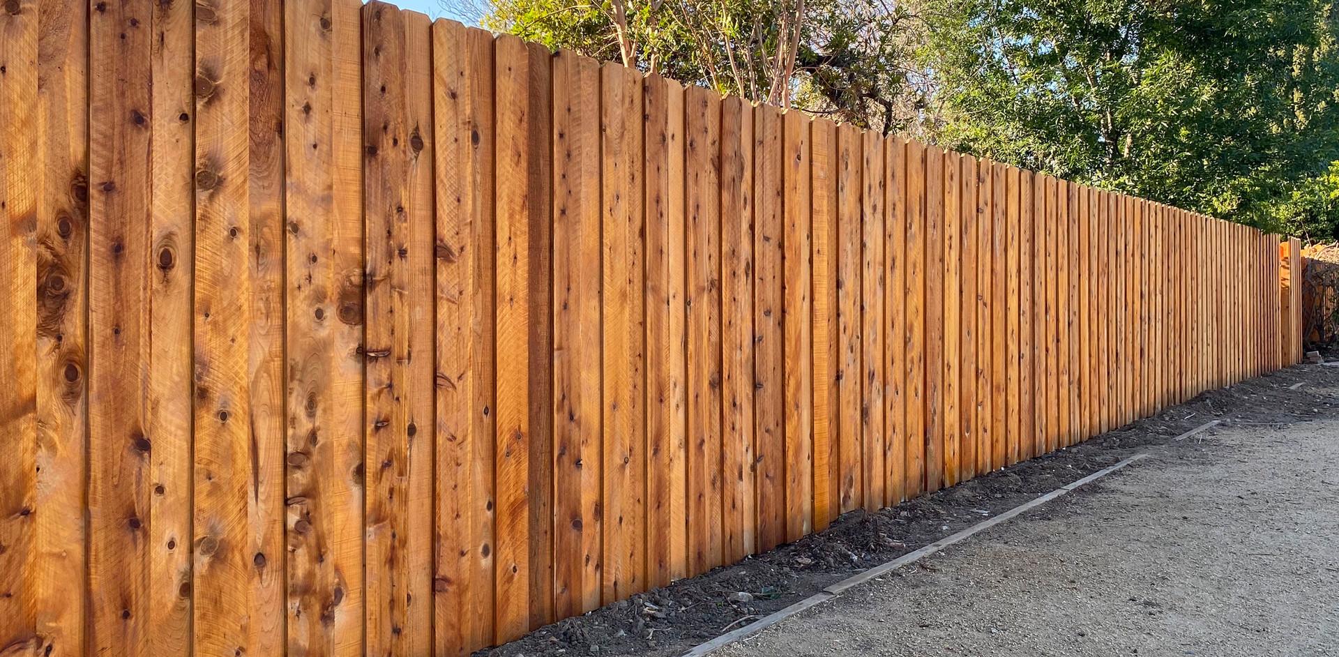 Board-on-Board Cedar Stained