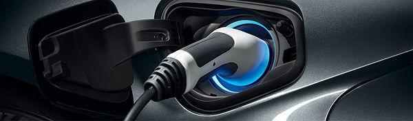 Cargador de auto electrico