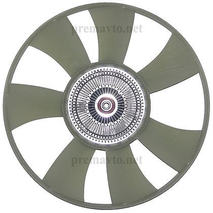 Вискомуфта в сборе с крыльчаткой вентилятора ф428мм арт. 070 004 043 68