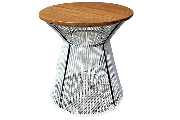 Vinyl cord Round Dining Table by Studio ORYX