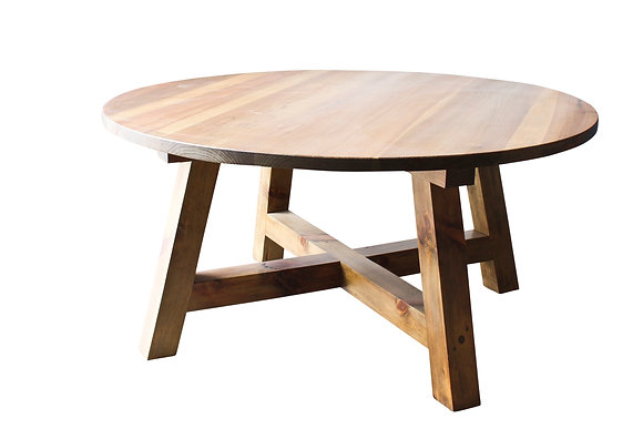 Round Farm house dining table by Studio ORYX.