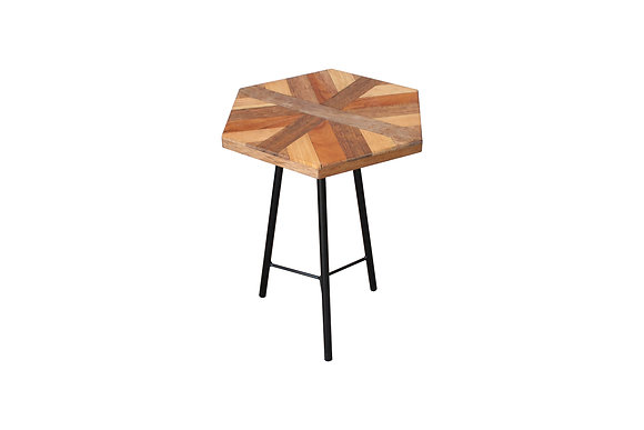 Scrap Wood side table