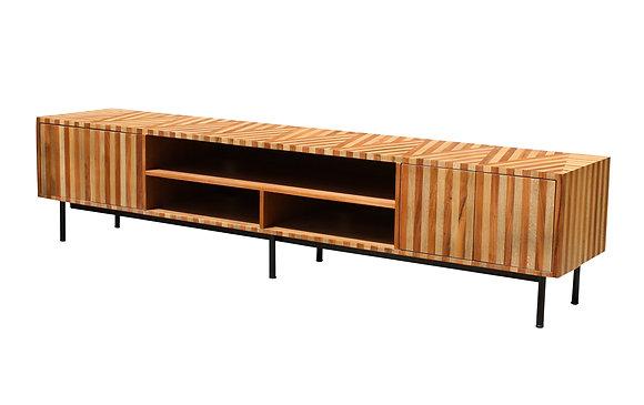 Modern Mininal Design Reclaimed Wood TV Console By Studio ORYX