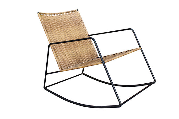 Rattan Rocking Chair By Studio ORYX