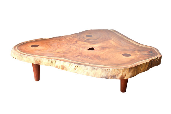 Live edge coffee table by studio ORYX
