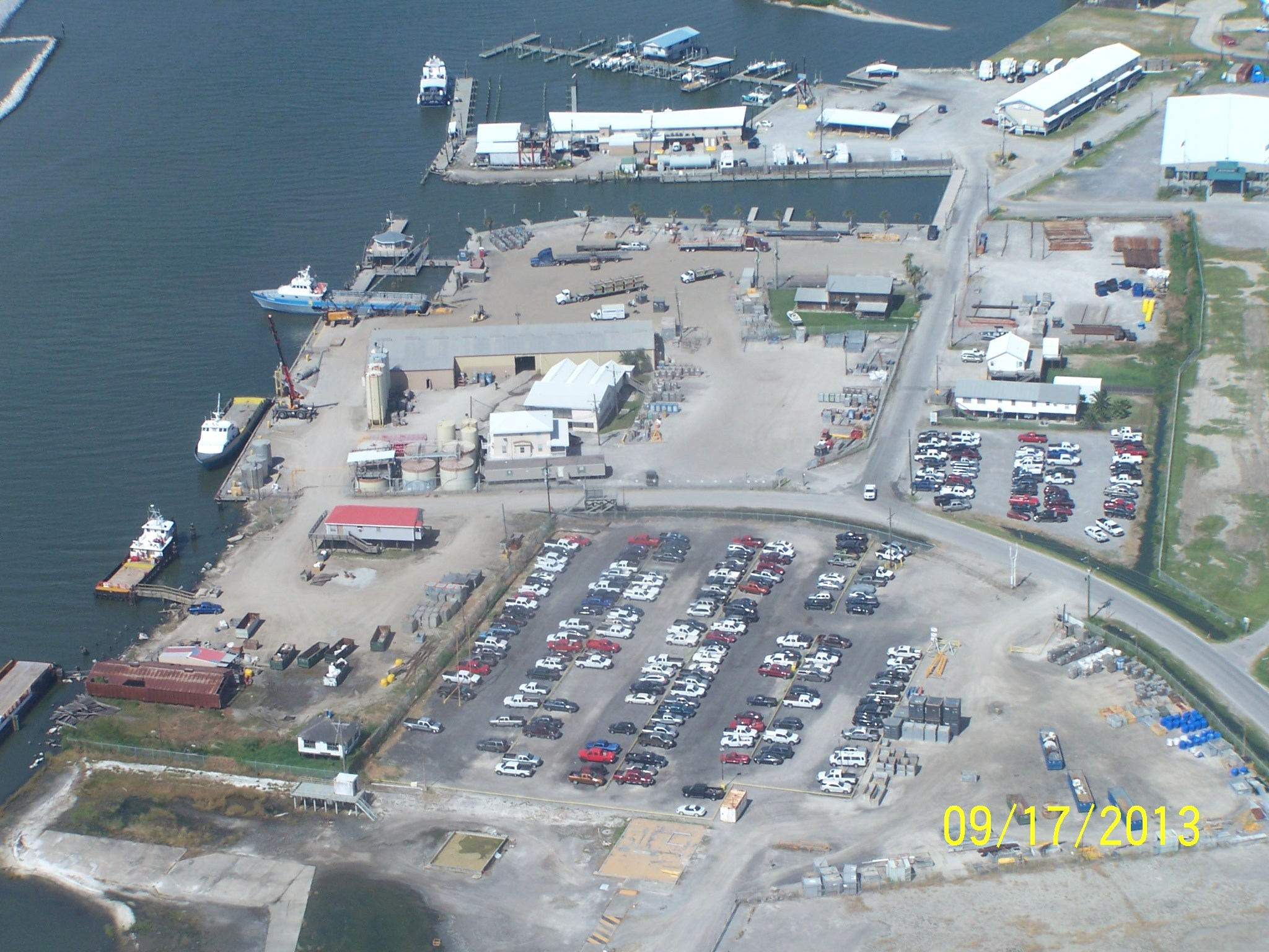 A-Port facility picture from air